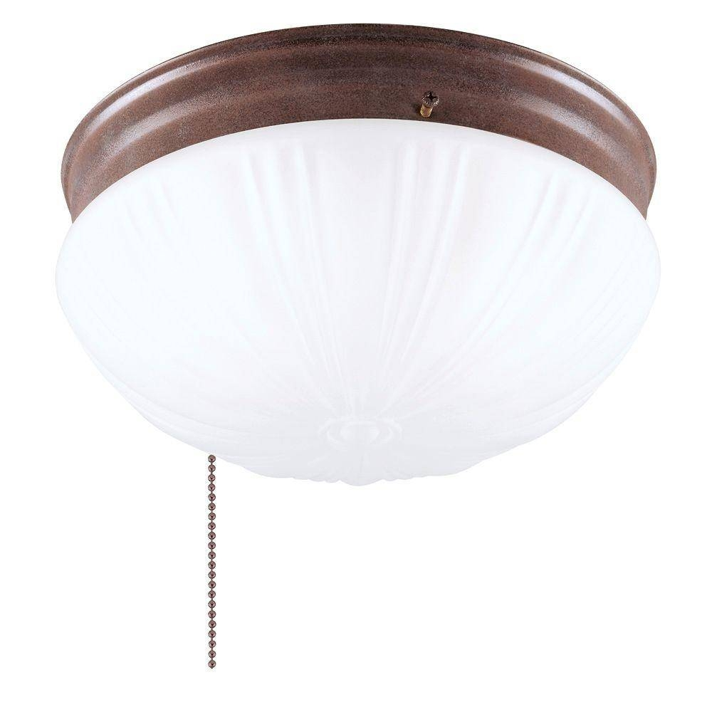 Westinghouse 2-Light Ceiling Fixture Sienna Interior Flush-Mount throughout Pull Chain Pendant Lights Fixtures (Image 15 of 15)