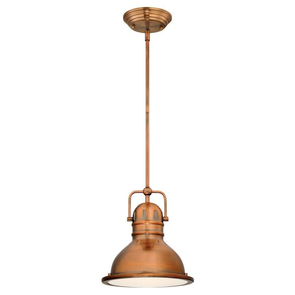 Westinghouse - Copper - Pendant Lights - Hanging Lights - The Home intended for Westinghouse Pendant Lights (Image 5 of 15)