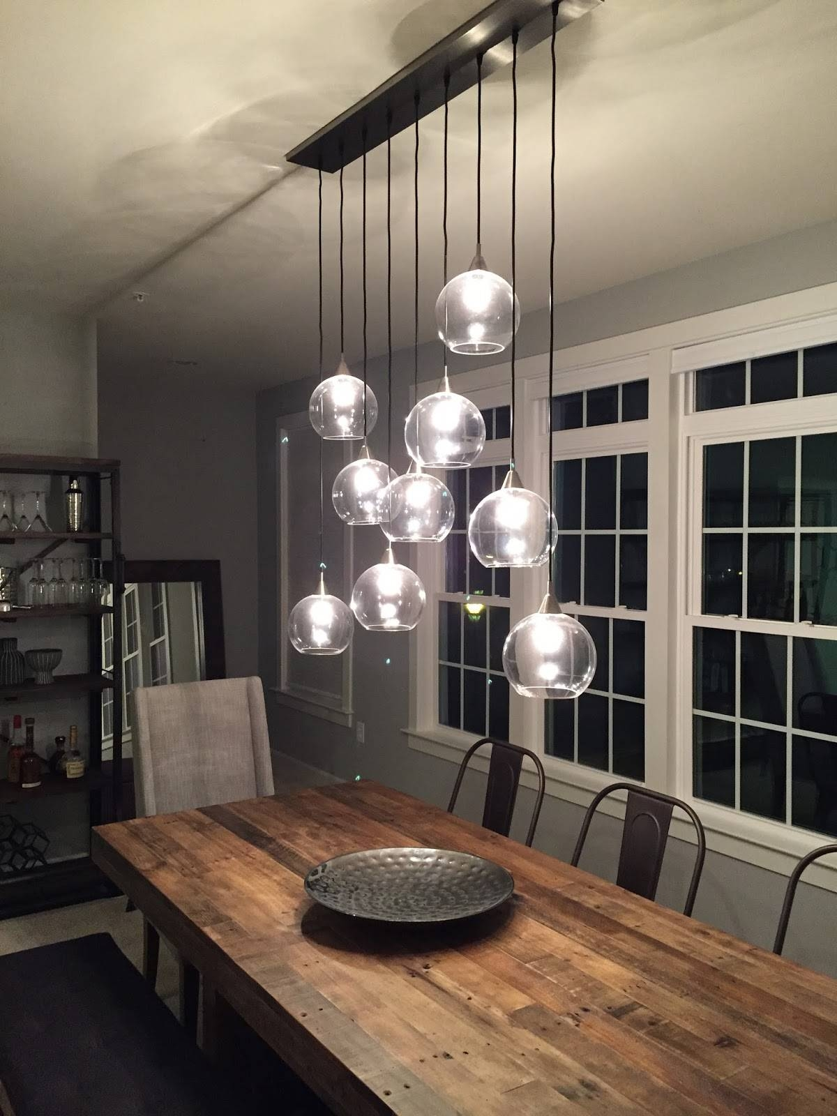 Whats New? Some Progress Finally! | Building Our Nvhomes Andrew With Cb2 Pendant Lights (View 15 of 15)