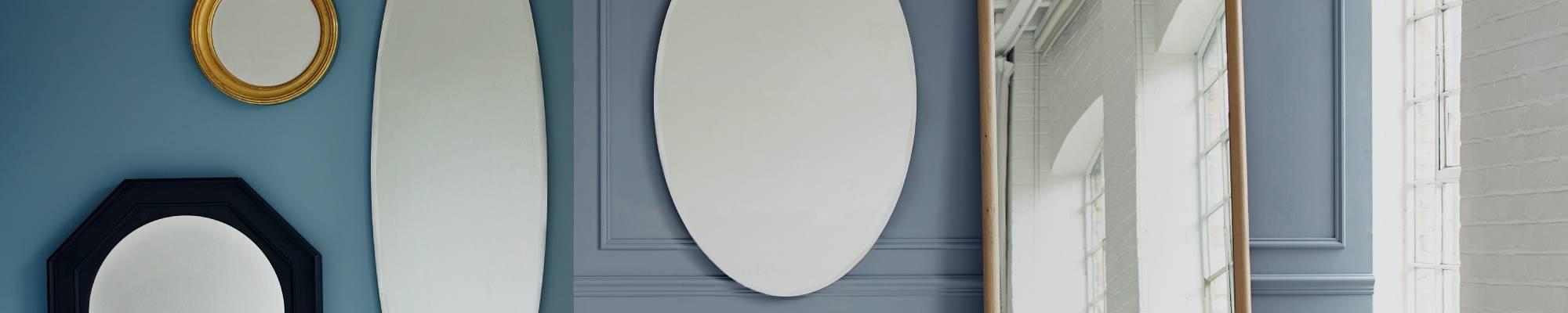 White - Round Mirrors | Modern Round & Circle Mirrors | Heal's pertaining to White Round Mirrors (Image 15 of 15)