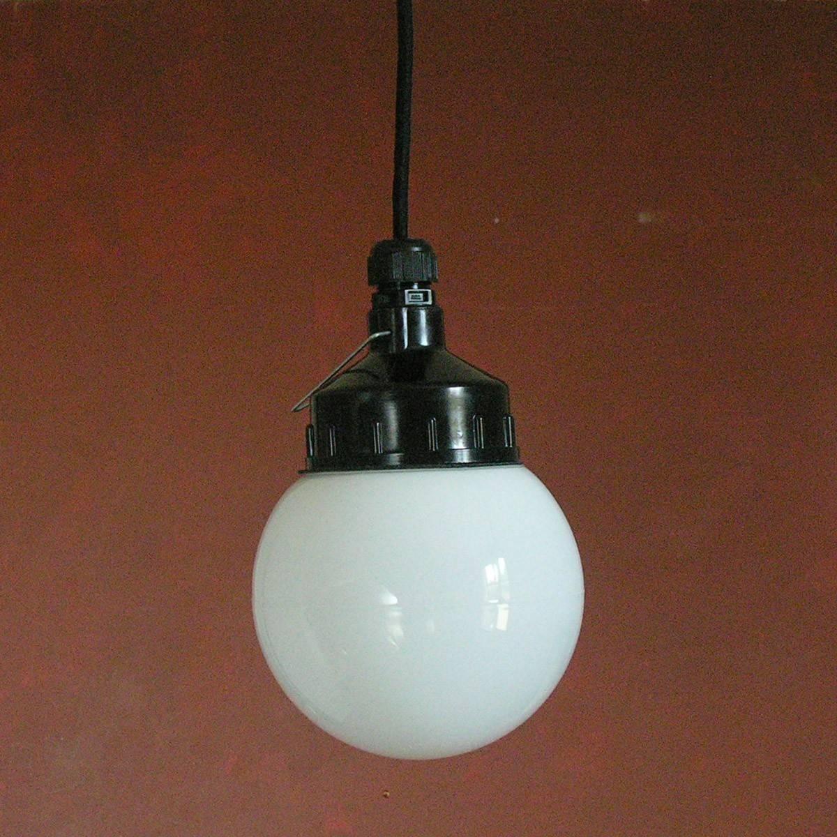White Sphere Pendant Light intended for Glass Sphere Pendant Lights (Image 15 of 15)
