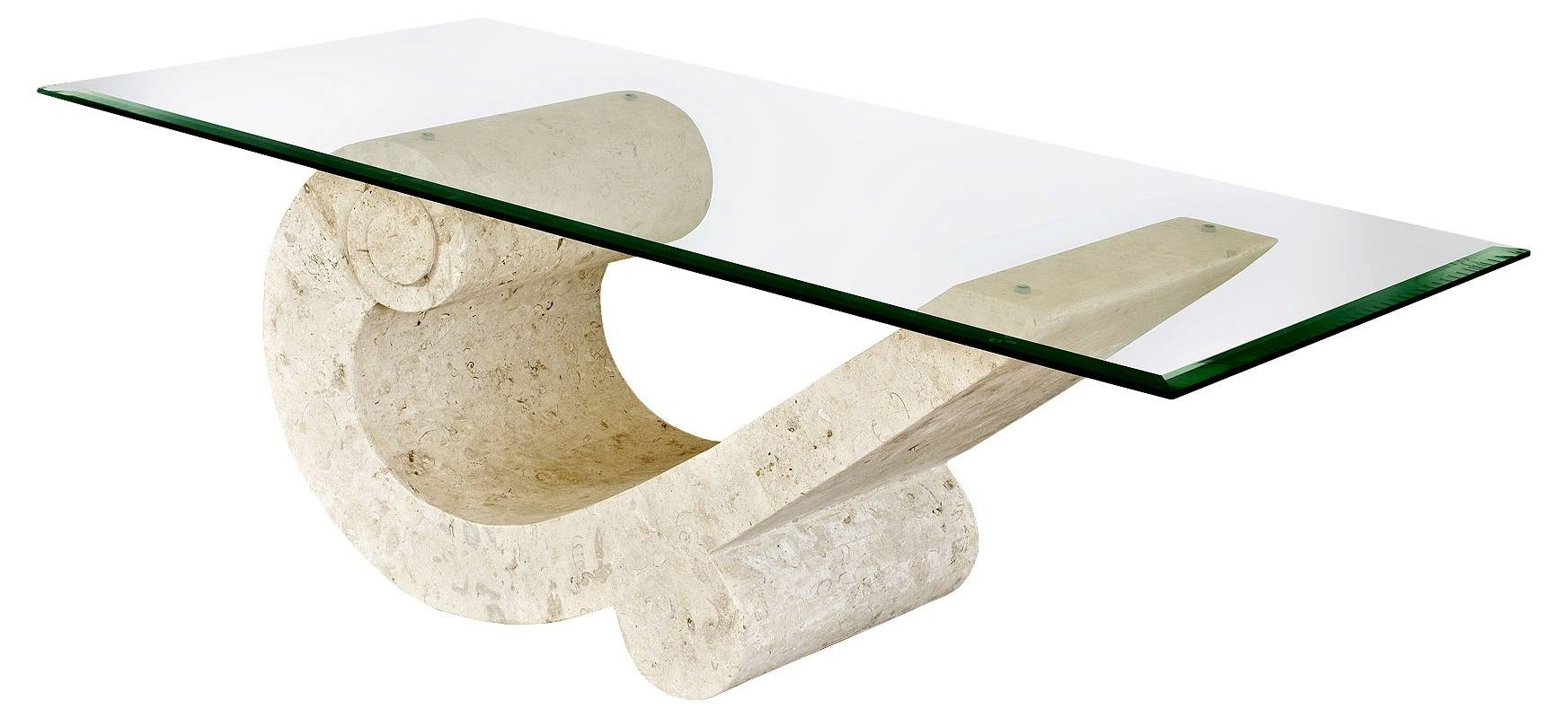 White Stone Coffee Table. Design Coffee Table Stone. Narrow Coffee within Glass And Stone Coffee Table (Image 15 of 15)