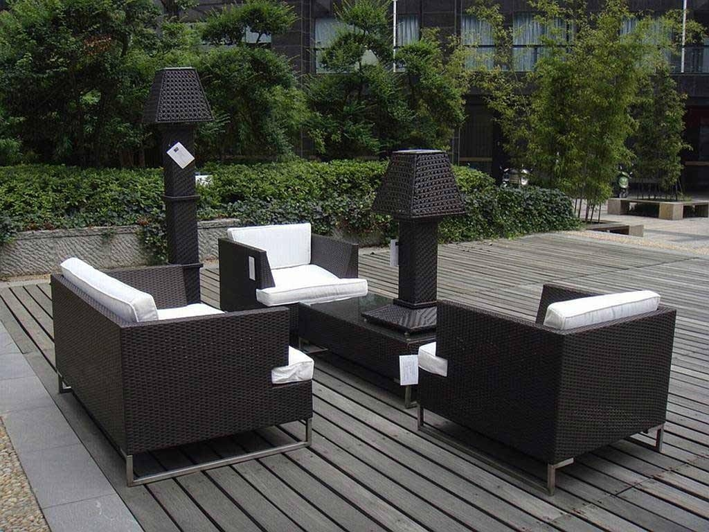 Wicker Patio Furniture Covers — Decor Trends : Best Modern Wicker Within Black Wicker Sofas (View 14 of 15)