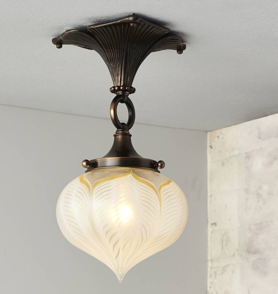 Wildwood Semi-Flush Mount | Rejuvenation throughout Arts and Crafts Pendant Lighting (Image 15 of 15)