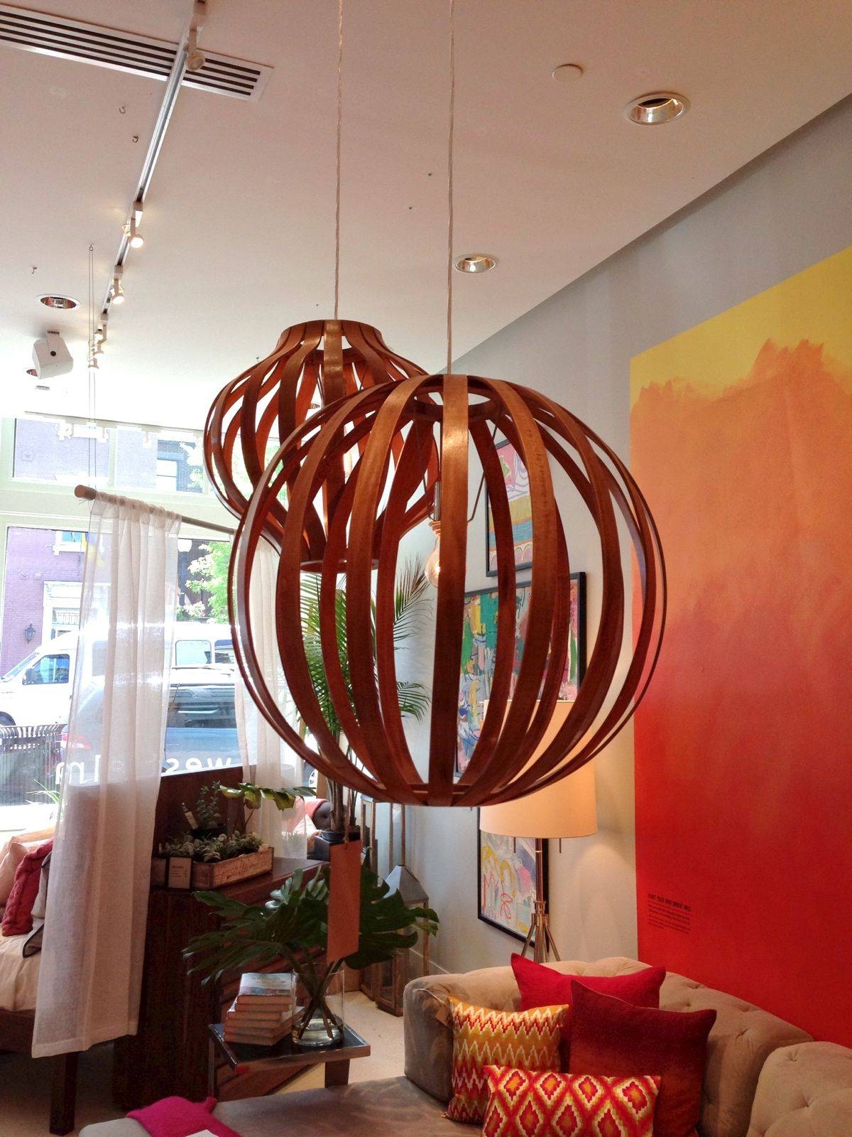 Window Shopping: Cb2 (And A Little West Elm) within Bentwood Pendants (Image 14 of 15)