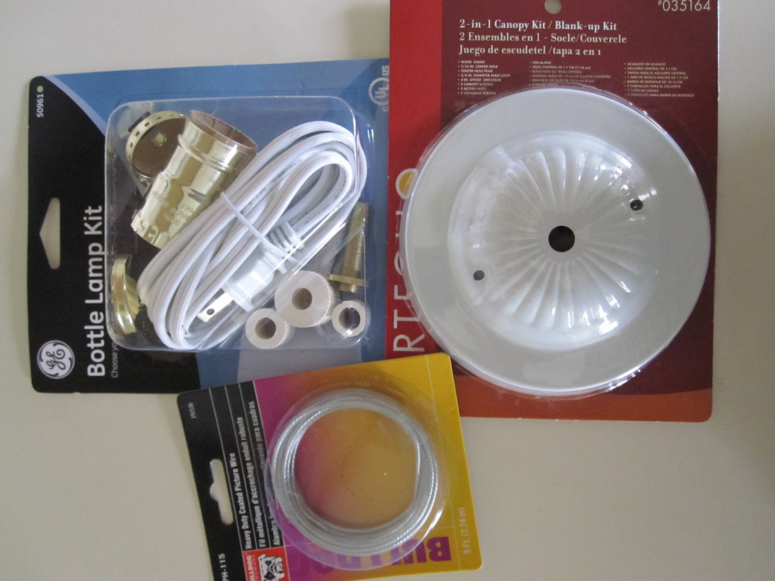 Wiring-And-Hanging-Supplies with Ikea Pendant Light Kits (Image 15 of 15)