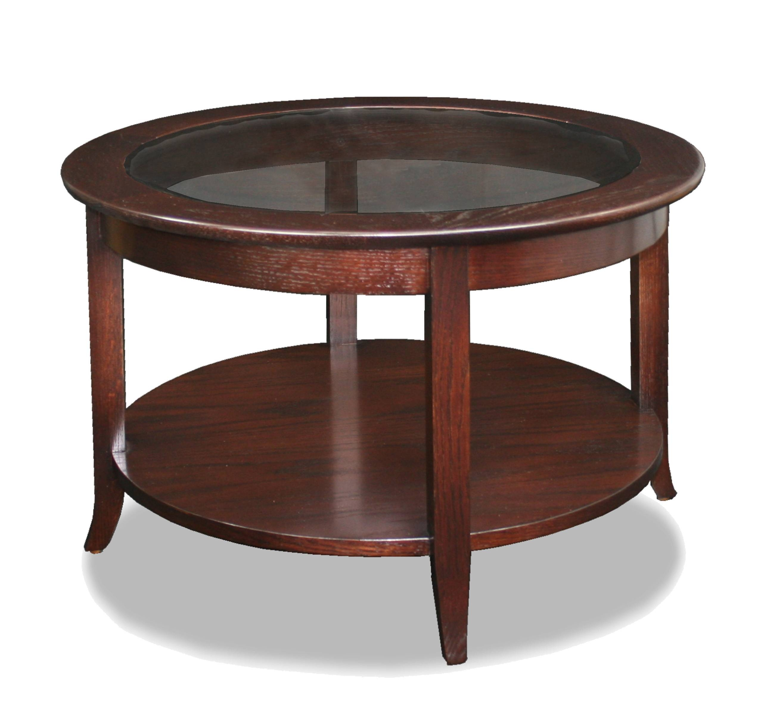 Wood And Glass Coffee Table. . Octagon Woodglass Coffee Table 60 for Round Wood and Glass Coffee Tables (Image 13 of 15)