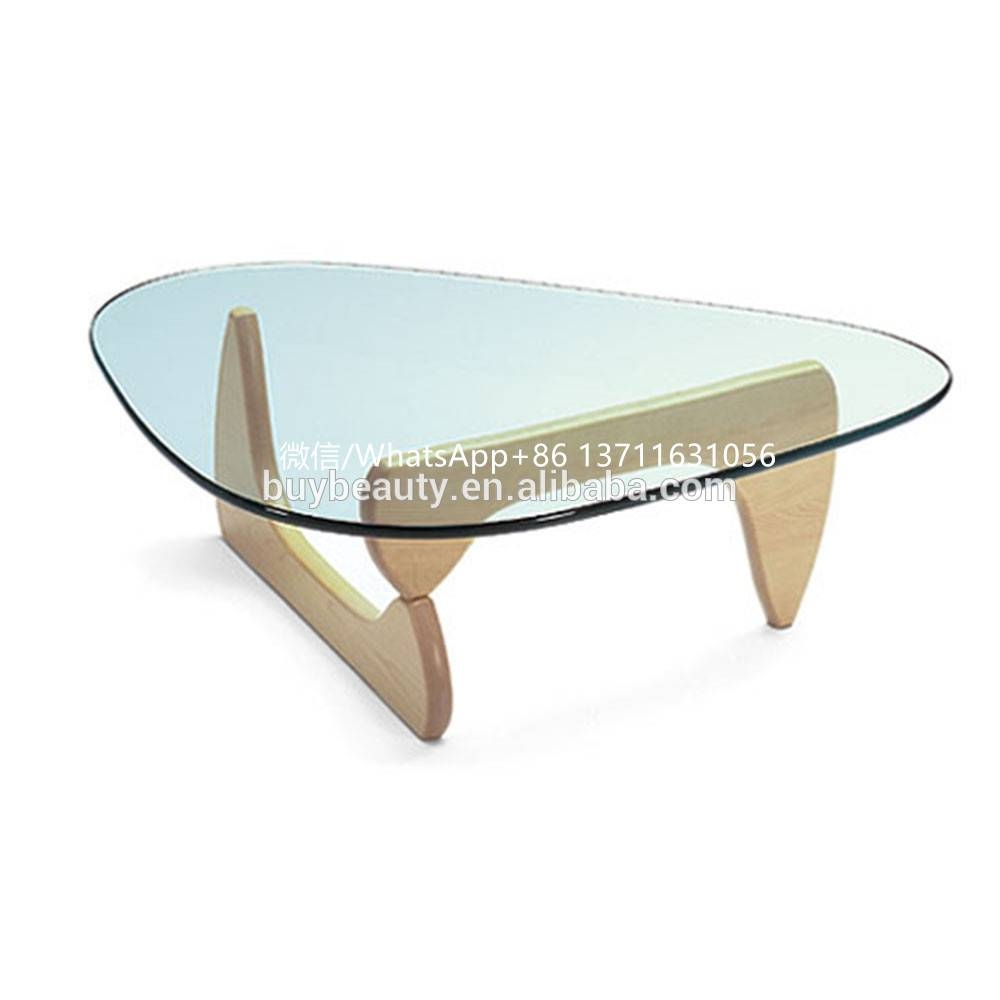 2019 Popular Solid Glass Coffee Table