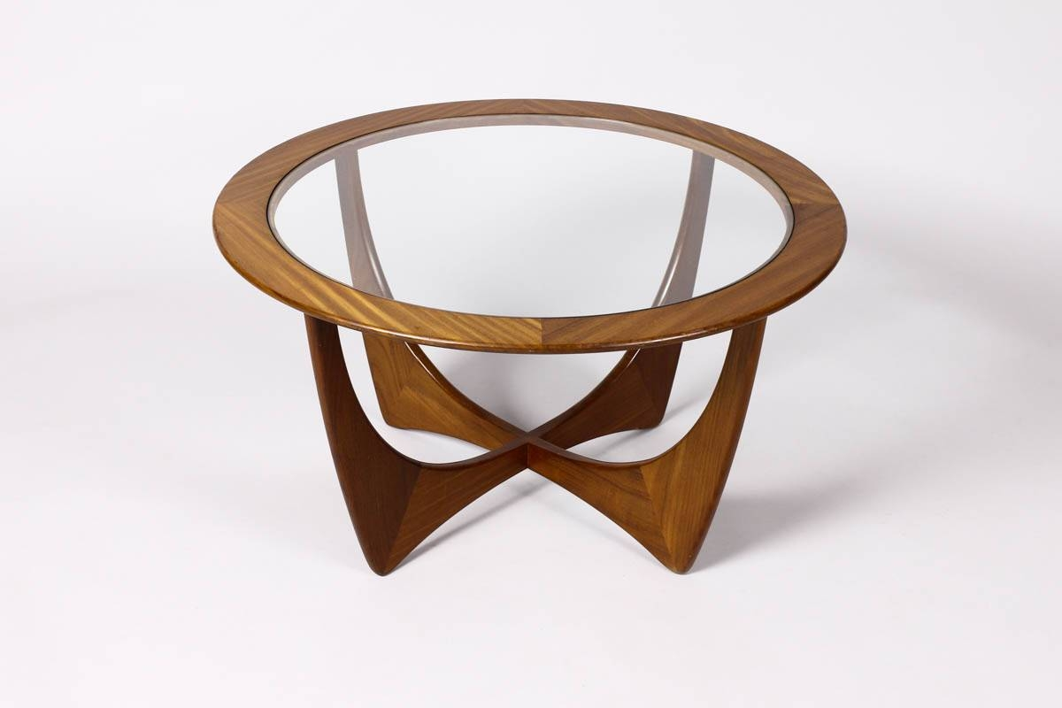Wood And Glass Coffee Table. . Octagon Woodglass Coffee Table 60 intended for Round Wood And Glass Coffee Tables (Image 15 of 15)