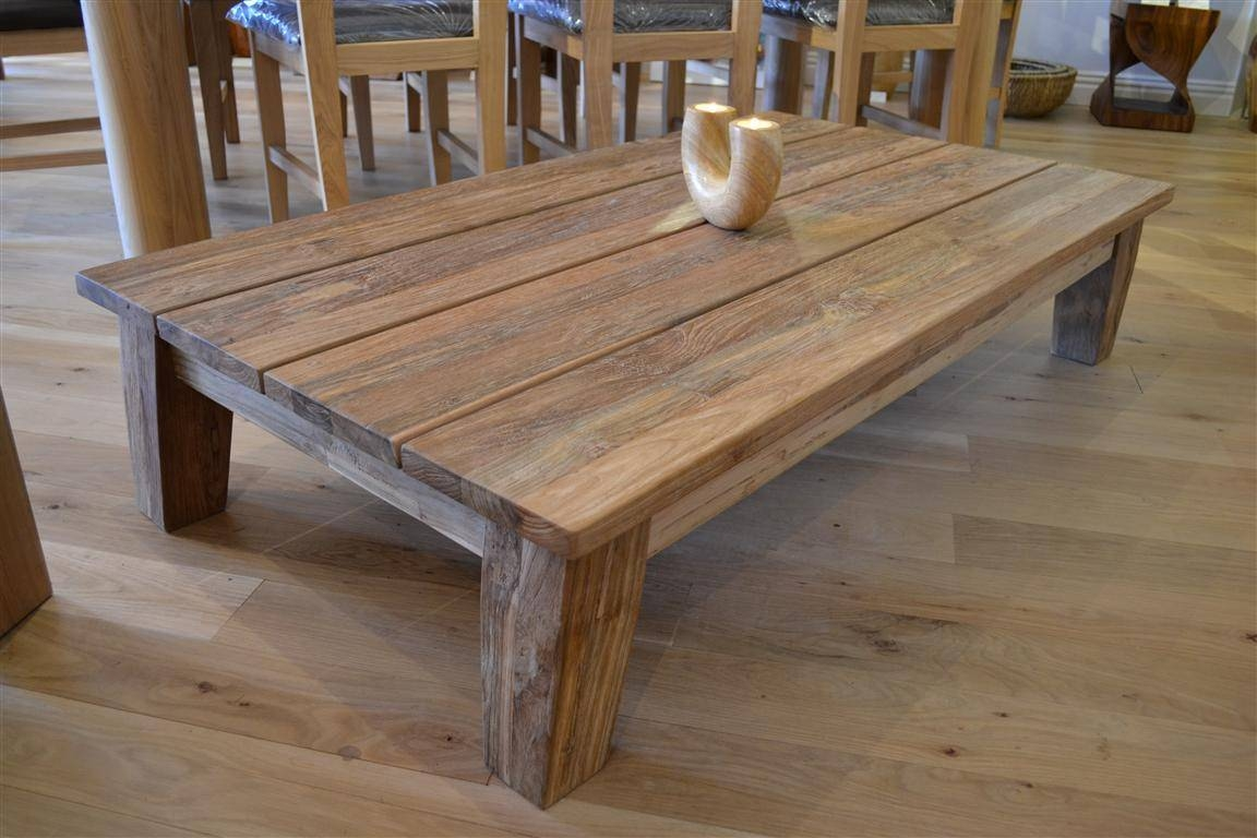 Wood Coffee Table. Feast Your Eyes On Our Teak Coffee Table Each for Reclaimed Wood Coffee Tables (Image 15 of 15)