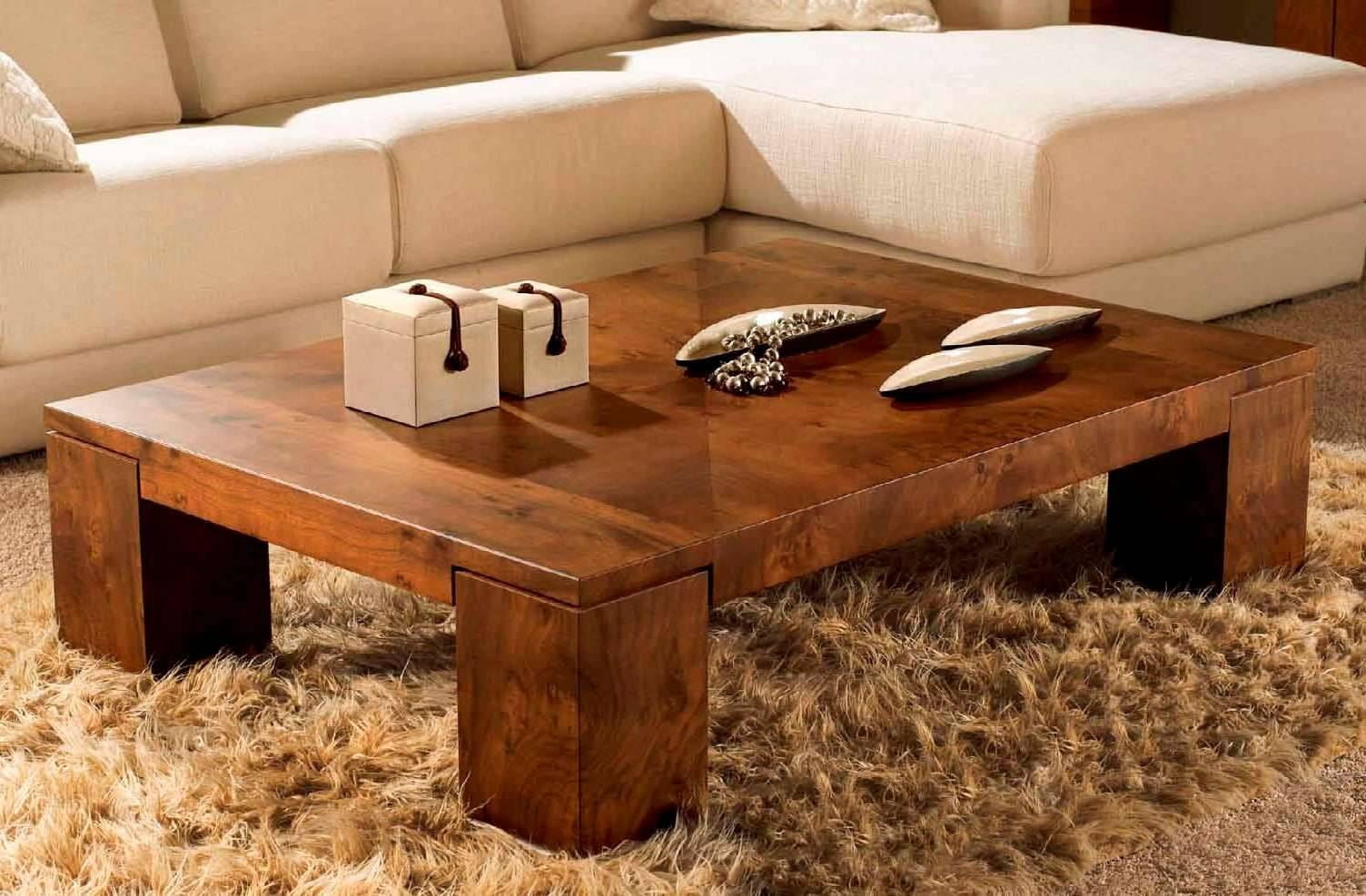 Wooden Coffee Tables. 44 Stylish Midcentury Modern Coffee Tables for Wooden Coffee Tables (Image 14 of 15)