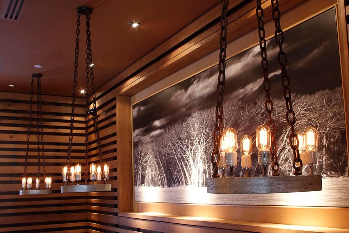 Woodranch Restaurant & Bar   Spike Lighting with regard to Restaurant Lighting Fixtures (Image 15 of 15)