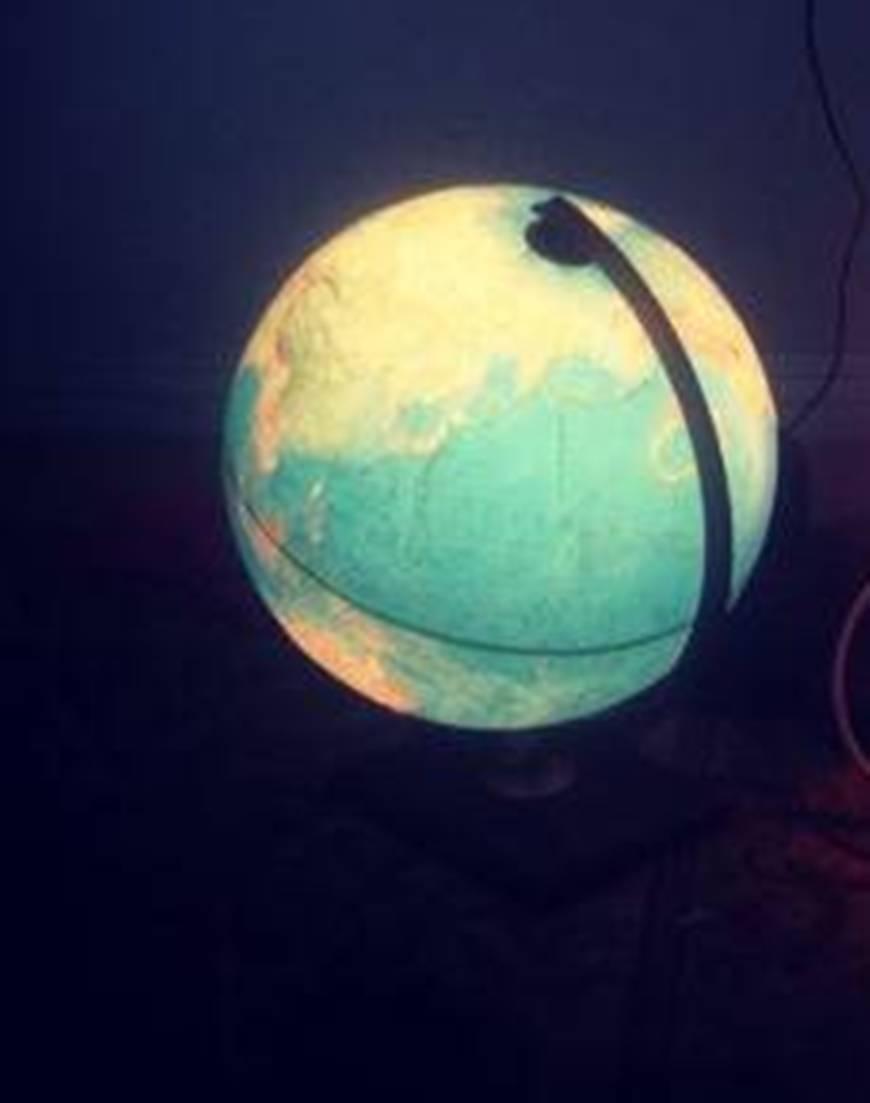 World Globe Novelty Lighting Fixtures : Gorgeous Novelty Lighting with Earth Globe Lights Fixtures (Image 15 of 15)