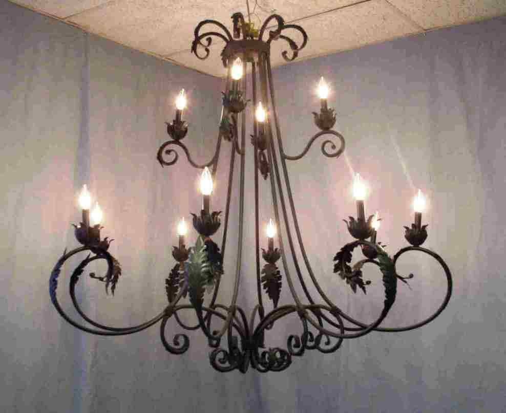 Wrought Iron Chandeliers Australia Design – Home Furniture Ideas inside Wrought Iron Lights Australia (Image 14 of 15)