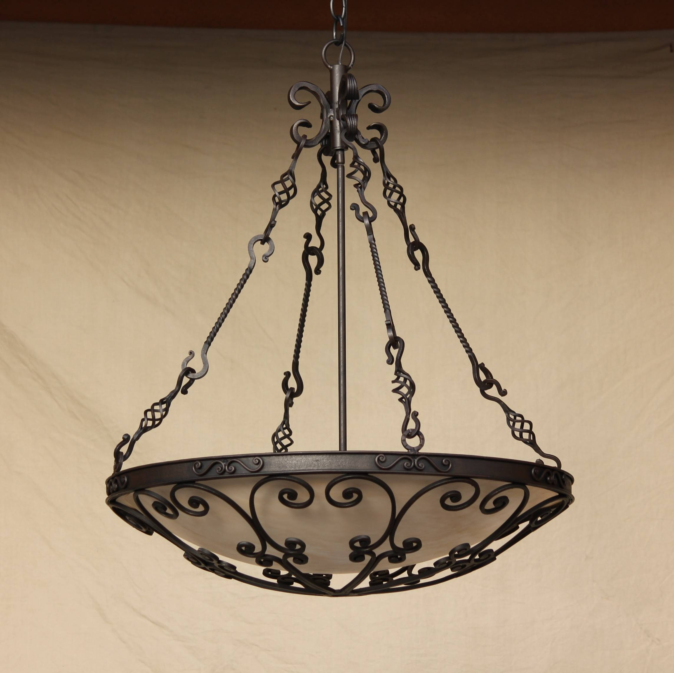Wrought Iron Pendant Light - Baby-Exit intended for Wrought Iron Lights Pendants (Image 14 of 15)