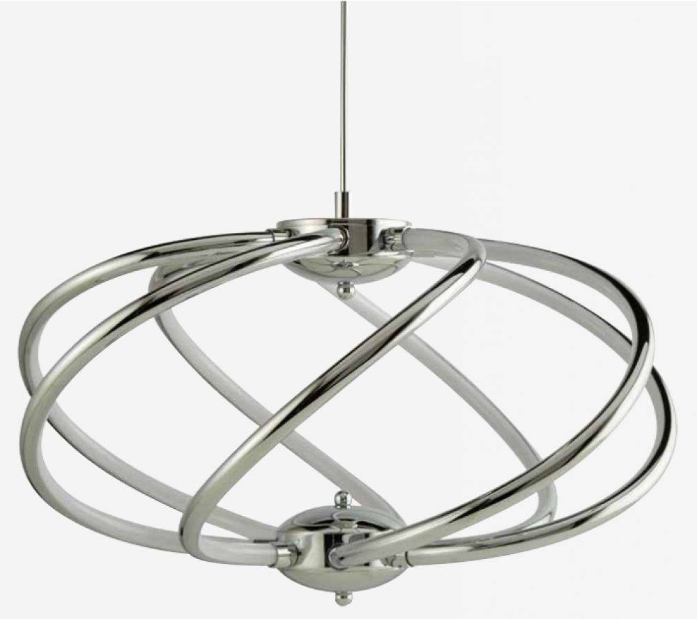 Yves Led Light (Chrome) 6500 7Cc   £336.00 In Yves Pendant Lights (Photo 15 of 15)
