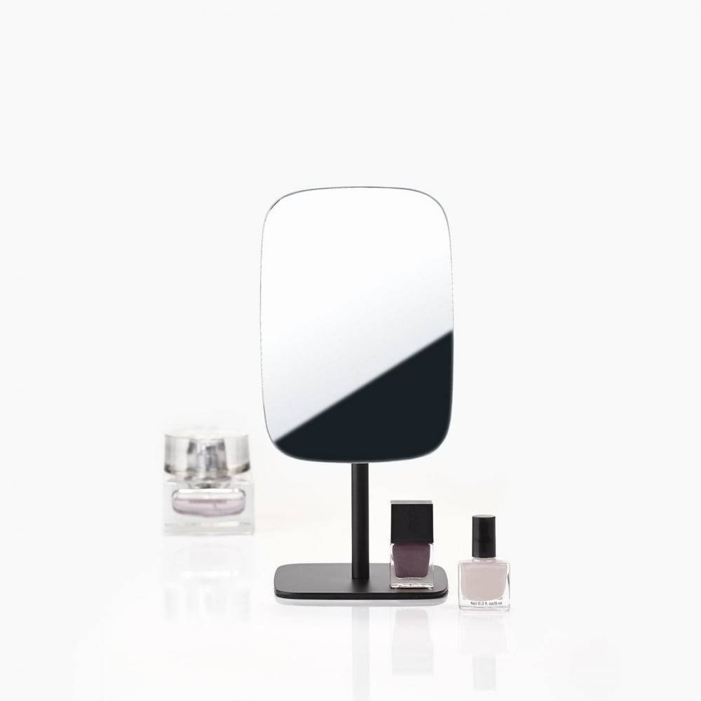 Zone Denmark Bathroom/dressing Table Mirror | Black | Blackdesign within Free Standing Table Mirrors (Image 15 of 15)