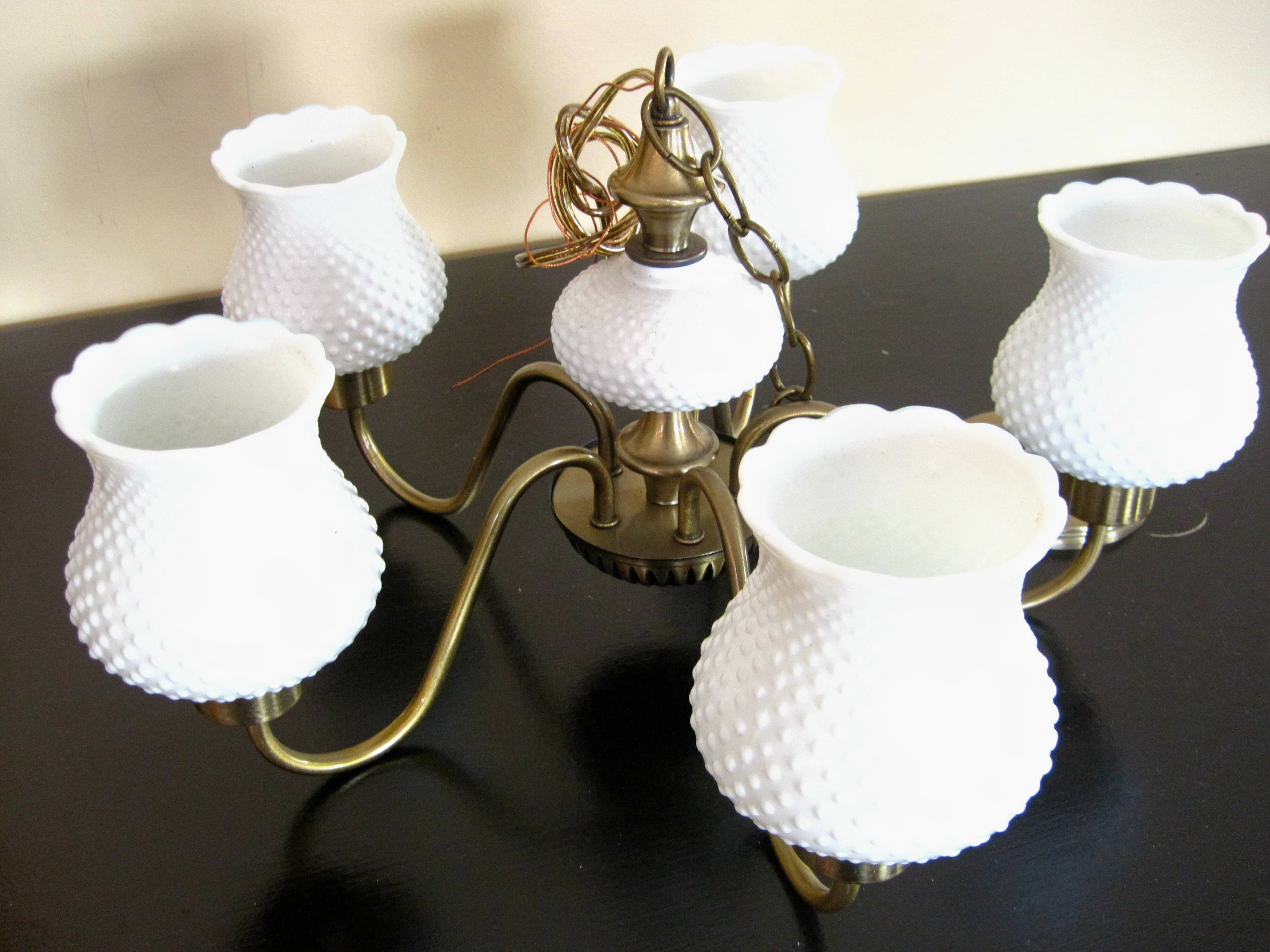 Zspmed Of Milk Glass Chandelier New In Home Decoration Ideas With within Milk Glass Lights Fixtures (Image 15 of 15)