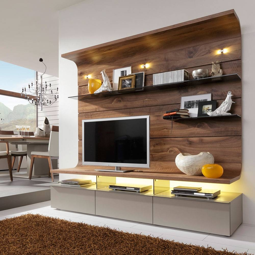 10 Ways To Disguise Your Tv | Ideal Home intended for On The Wall Tv Units (Image 1 of 15)