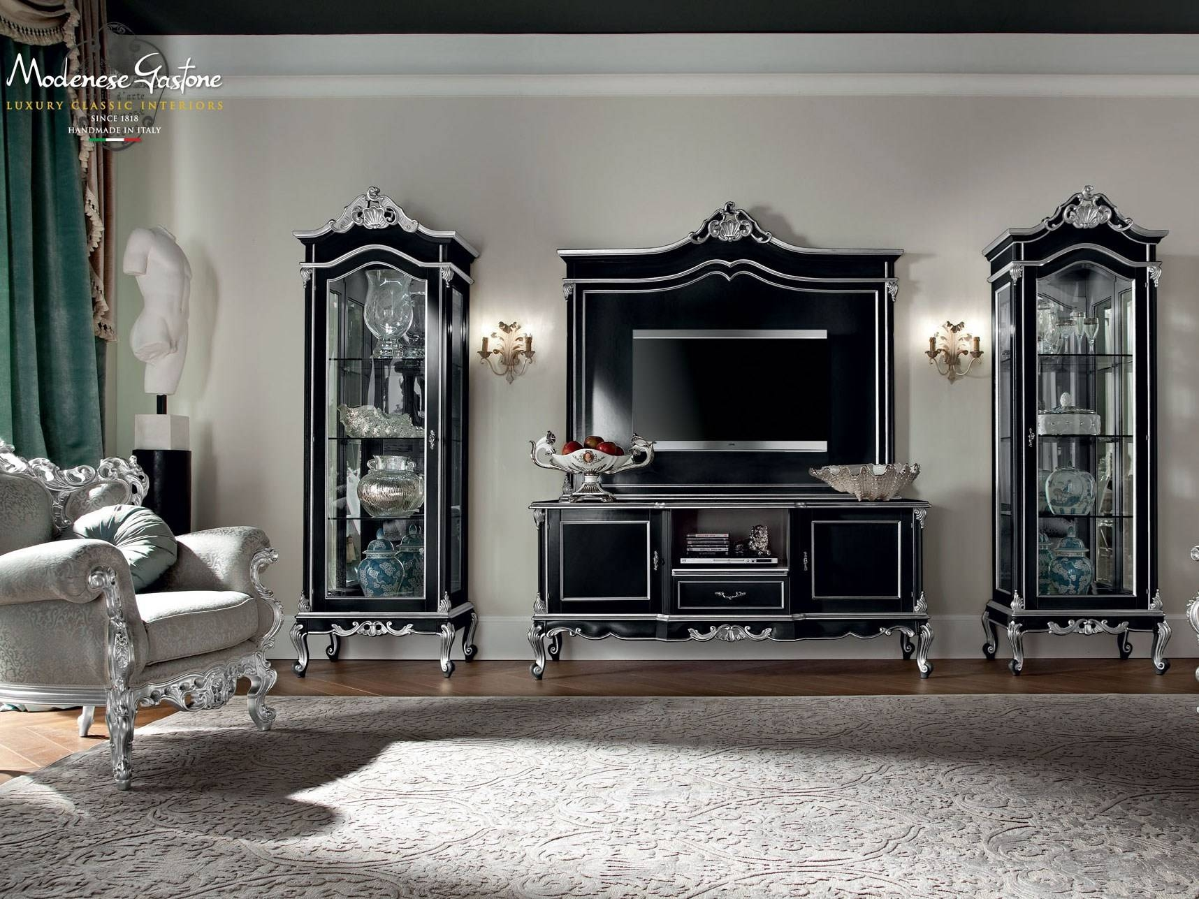 12110 | Tv Cabinetmodenese Gastone In Classic Tv Cabinets (View 1 of 15)