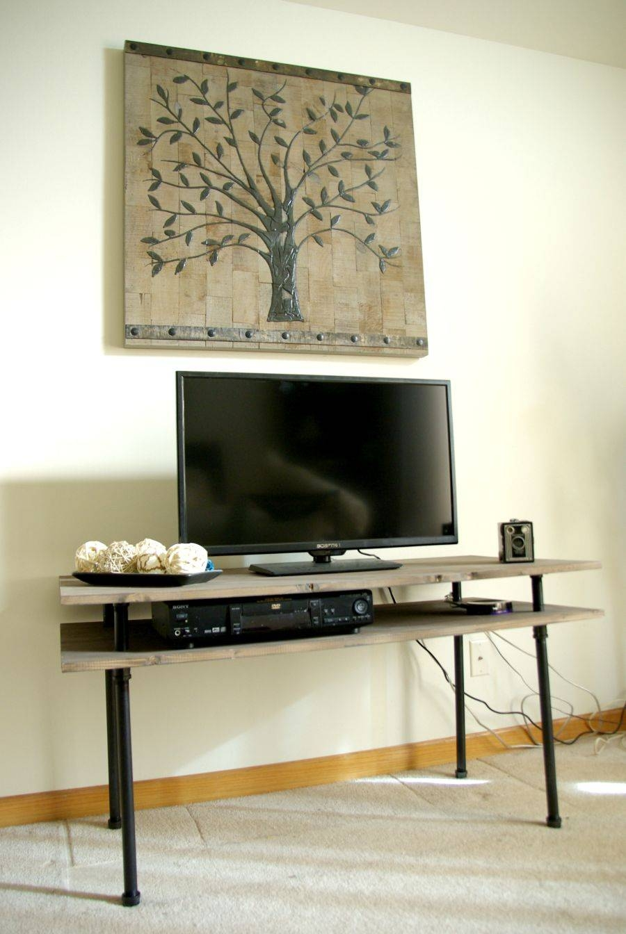 13 Diy Plans For Building A Tv Stand | Guide Patterns within Telly Tv Stands (Image 1 of 15)
