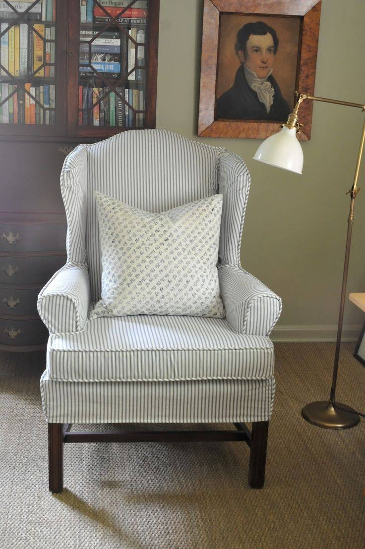 158 Best Slipcovers Images On Pinterest | Slipcovers, Chair Covers with regard to Blue Slipcovers (Image 1 of 15)