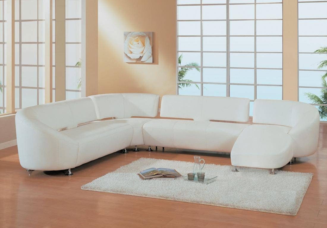 17 Small White Sofa | Auto-Auctions regarding Small Scale Leather Sectional Sofas (Image