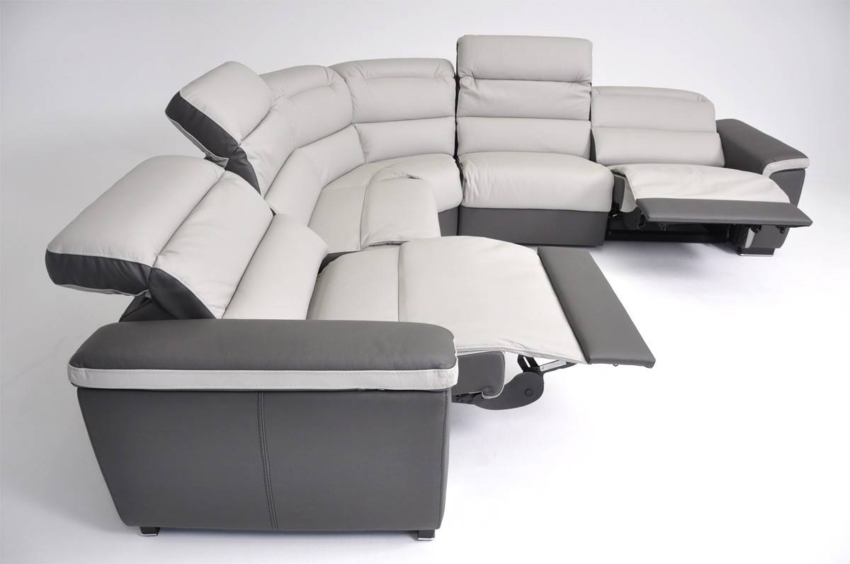 18 Italian Leather Reclining Sofa | Carehouse within Italian Recliner Sofas (Image 1 of 15)
