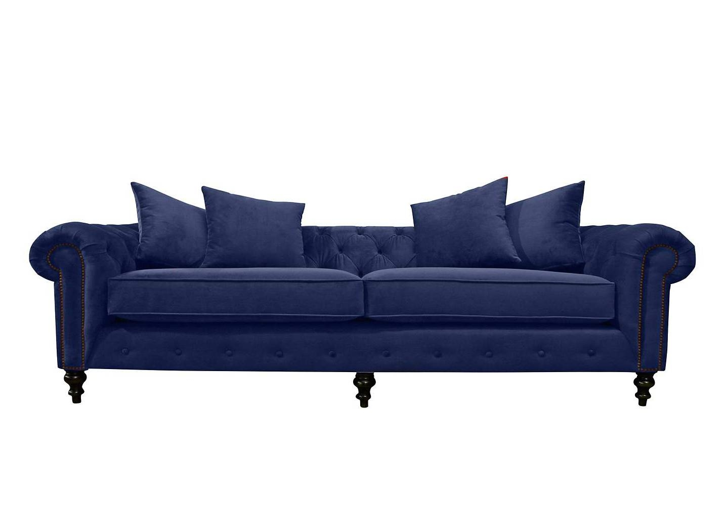 20 Best Blue Sofas - Stylish Blue Couch Ideas for Blue Sofas (Image 2 of 15)