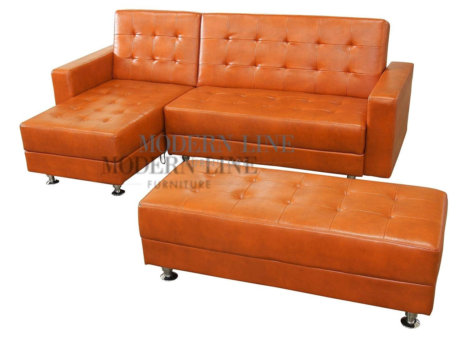 20 Best Burnt Orange Sofas | Sofa Ideas in Burnt Orange Leather Sofas (Image 1 of 15)