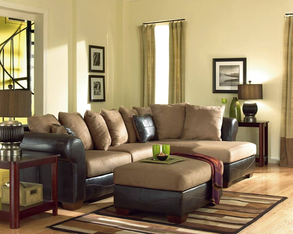 20 Best Ideas Ashley Furniture Brown Corduroy Sectional Sofas for Ashley Corduroy Sectional Sofas (Image 2 of 15)