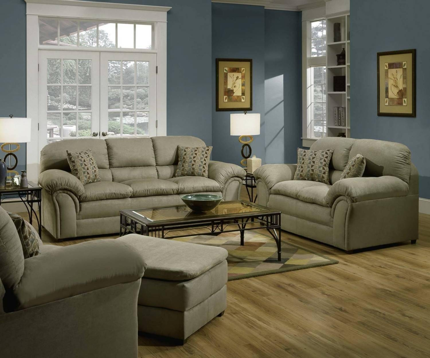 20+ Choices Of Simmons Microfiber Sofas | Sofa Ideas with regard to Simmons Microfiber Sofas (Image 6 of 15)