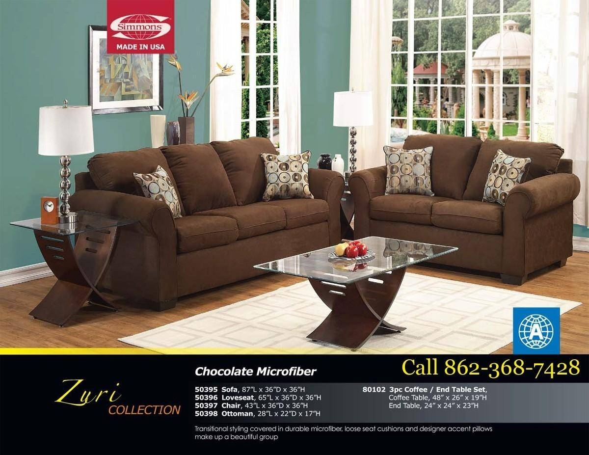20+ Choices Of Simmons Microfiber Sofas | Sofa Ideas with Simmons Microfiber Sofas (Image 7 of 15)