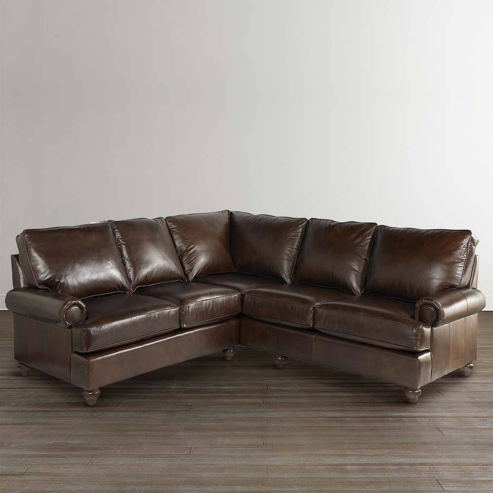 20+ Choices Of Small Scale Leather Sectional Sofas | Sofa Ideas Intended For Small Scale Leather Sectional Sofas (View 2 of 15)