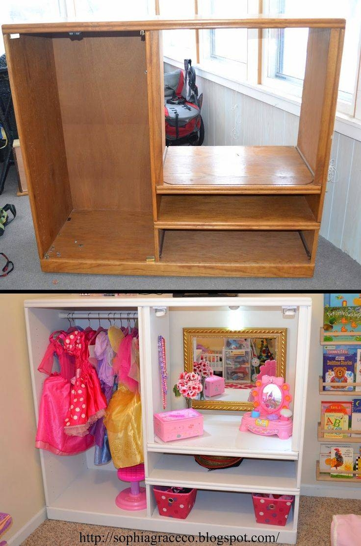 20+ Creative Ideas And Diy Projects To Repurpose Old Furniture pertaining to Playroom Tv Stands (Image 1 of 15)
