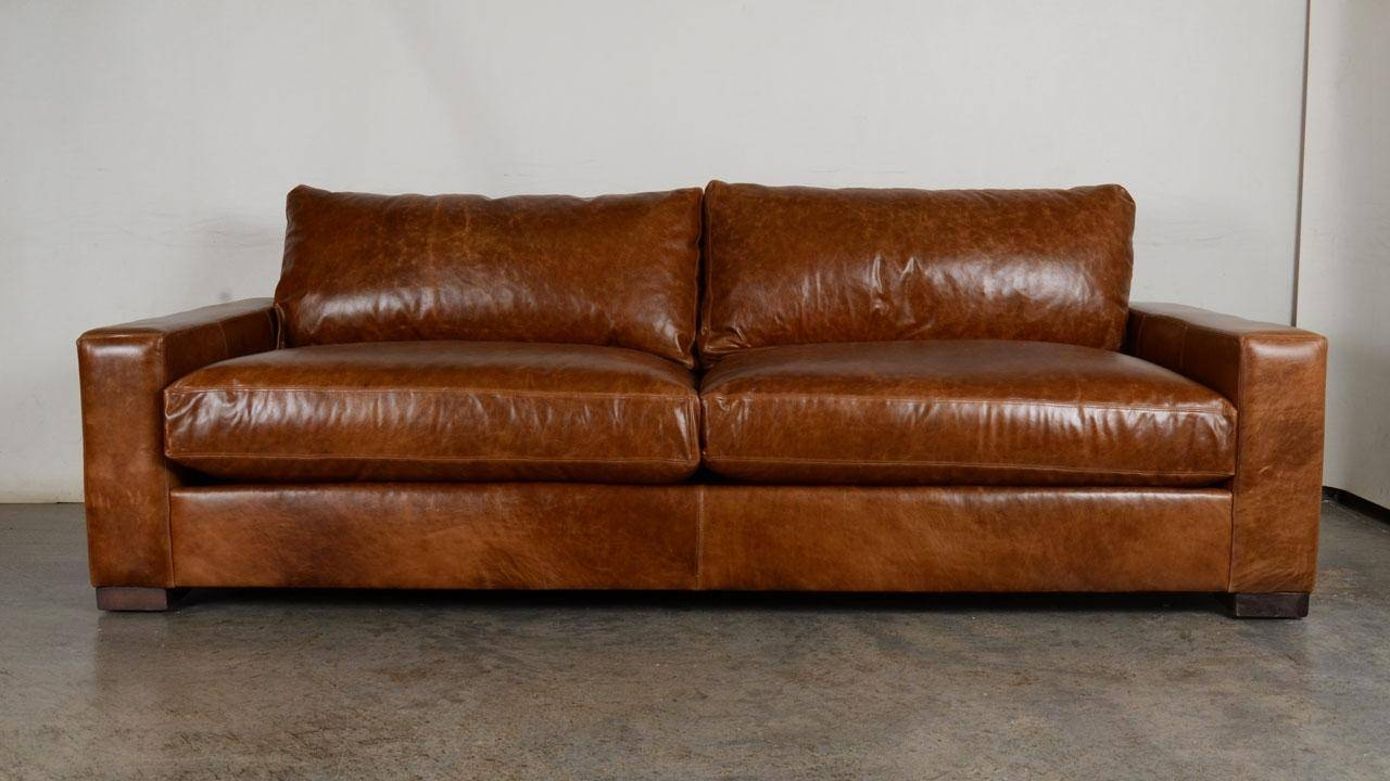 20 Ideas Of Caramel Leather Sofas | Sofa Ideas within Carmel Leather Sofas (Image 1 of 15)