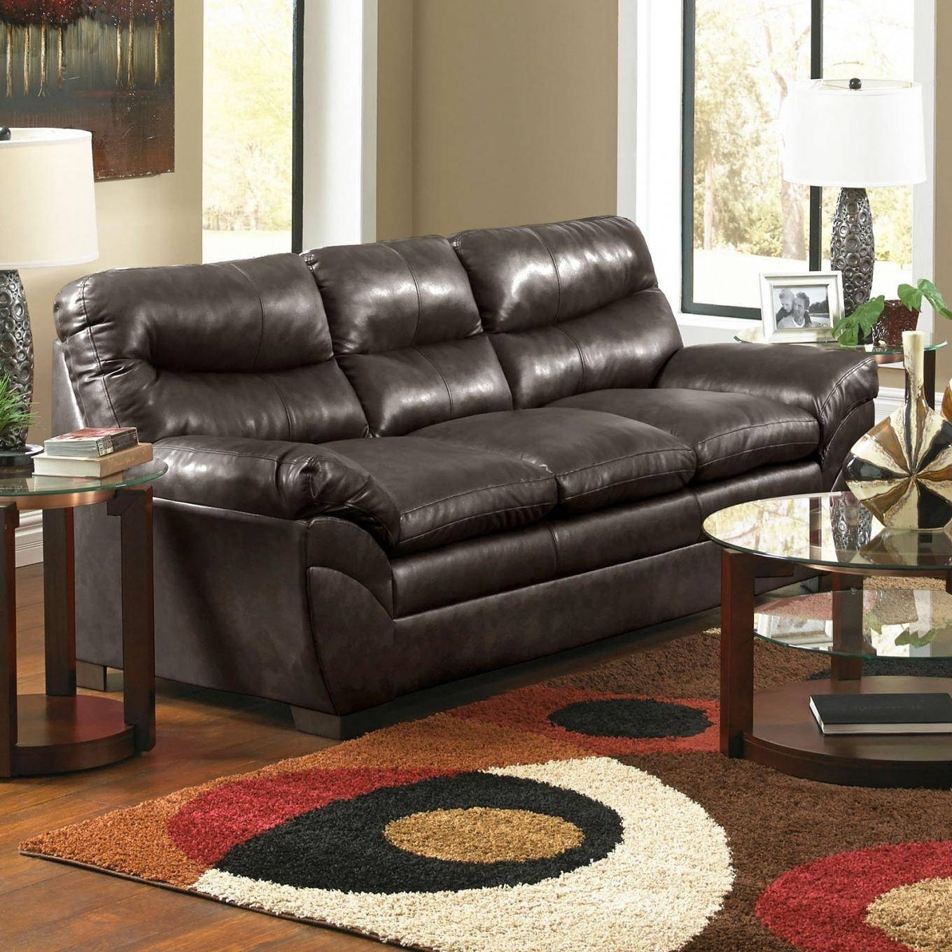 20 Ideas Of Simmons Bonded Leather Sofas | Sofa Ideas throughout Simmons Bonded Leather Sofas (Image 4 of 15)