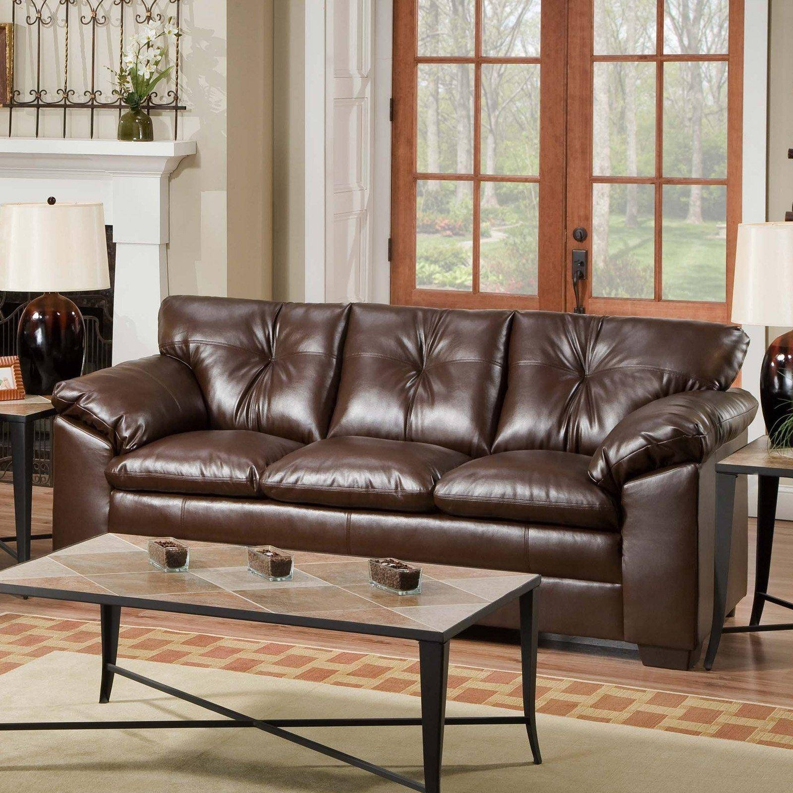 20 Ideas Of Simmons Bonded Leather Sofas | Sofa Ideas with Simmons Bonded Leather Sofas (Image 5 of 15)