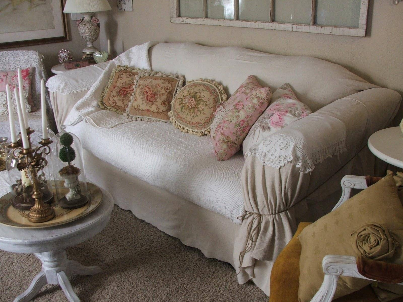 20 Photos Shabby Chic Sofas Covers | Sofa Ideas in Shabby Chic Sofas Covers (Image 1 of 15)