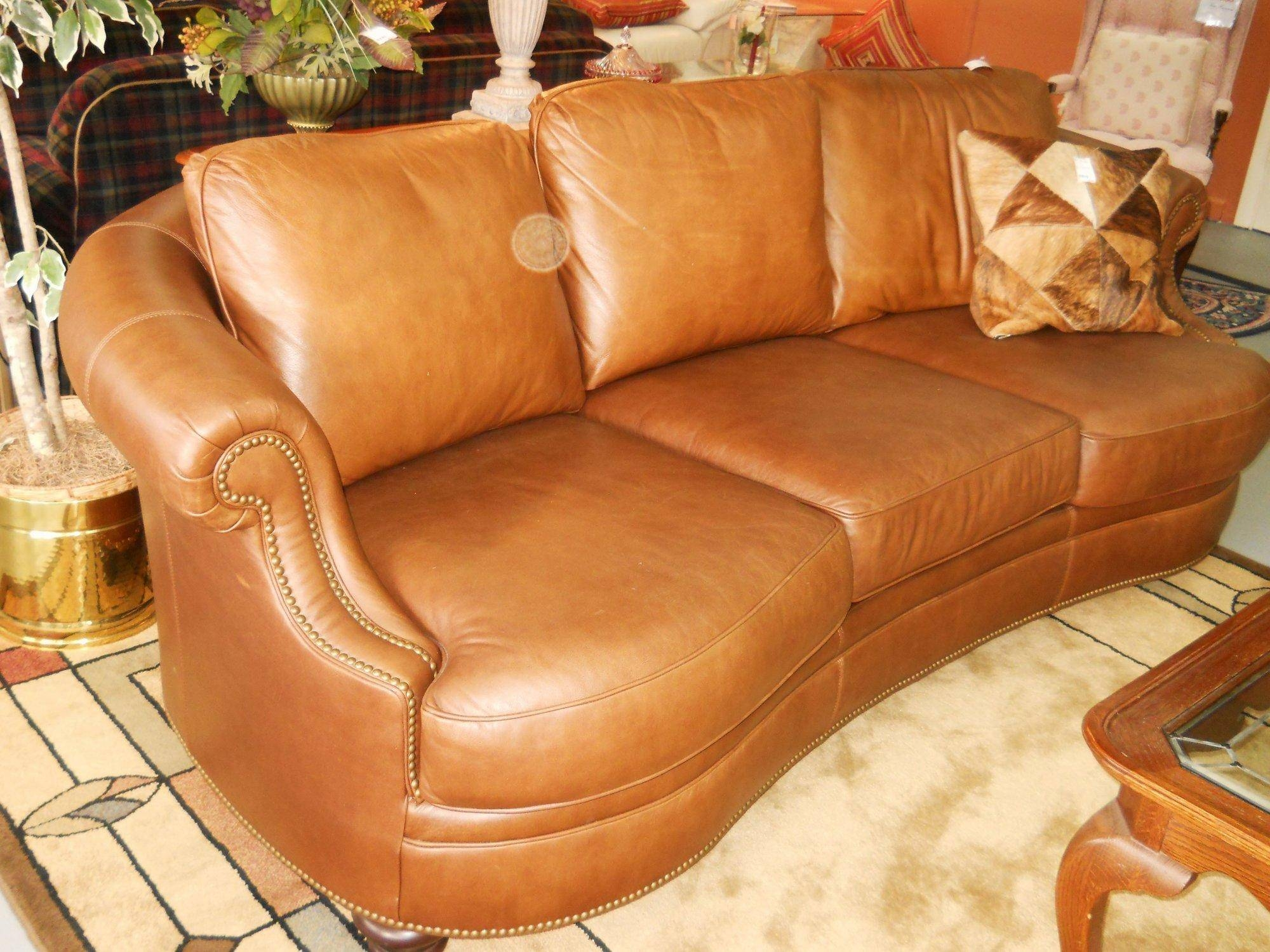 20 Top Camel Color Leather Sofas | Sofa Ideas for Camel Colored Leather Sofas (Image 1 of 15)