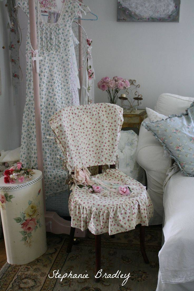 234 Best Slipcovers Images On Pinterest | Chairs, Chair Covers And With Regard To Shabby Chic Sofas Covers (View 2 of 15)