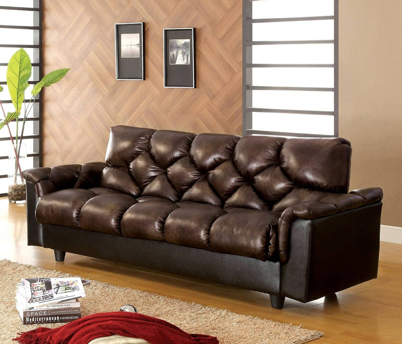 25 Best Sleeper Sofa Beds To Buy In 2017 with regard to Faux Leather Sleeper Sofas (Image 1 of 15)