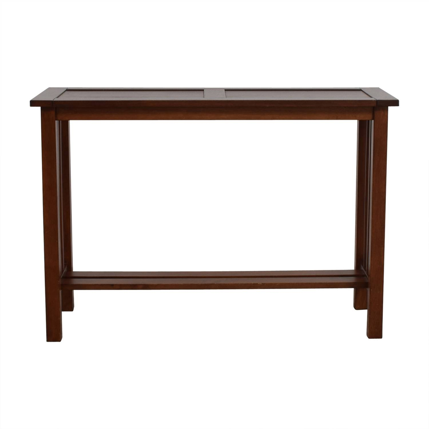 25% Off - Crate & Barrel Crate & Barrel Console Table / Tables regarding Crate and Barrel Sofa Tables (Image 10 of 15)