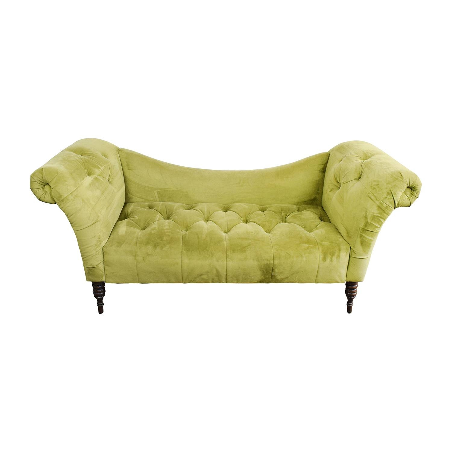 31% Off - West Elm West Elm Henry Gray Loveseat / Sofas inside Antoinette Fainting Sofas (Image 9 of 15)