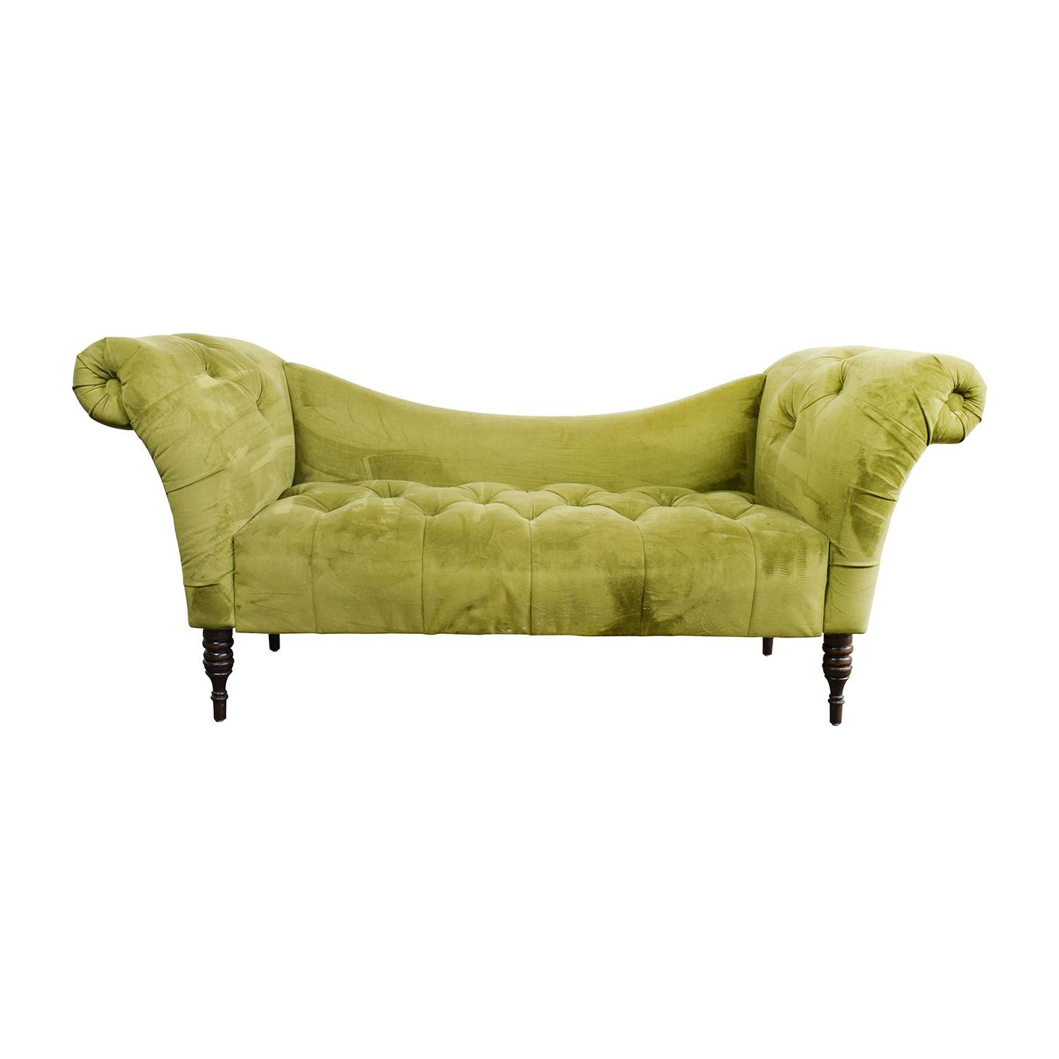 31% Off - West Elm West Elm Henry Gray Loveseat / Sofas regarding Antoinette Fainting Sofas (Image 10 of 15)
