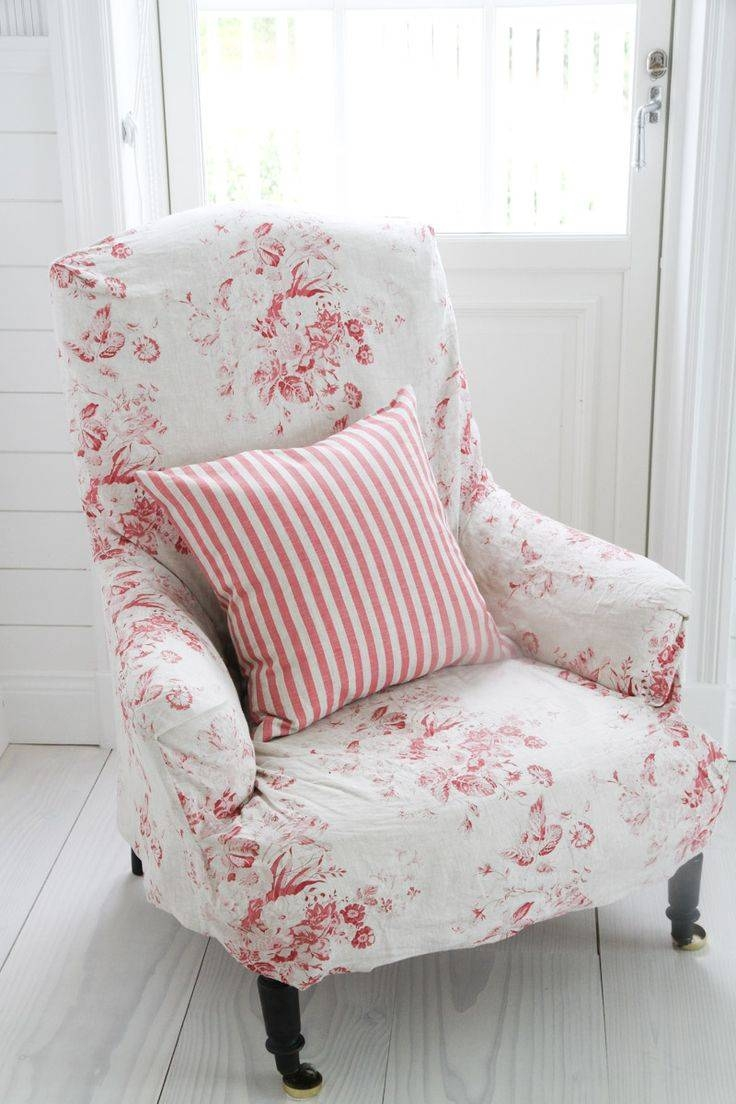335 Best Slipcovers Images On Pinterest | Armchair, Chairs And in Floral Slipcovers (Image 1 of 15)
