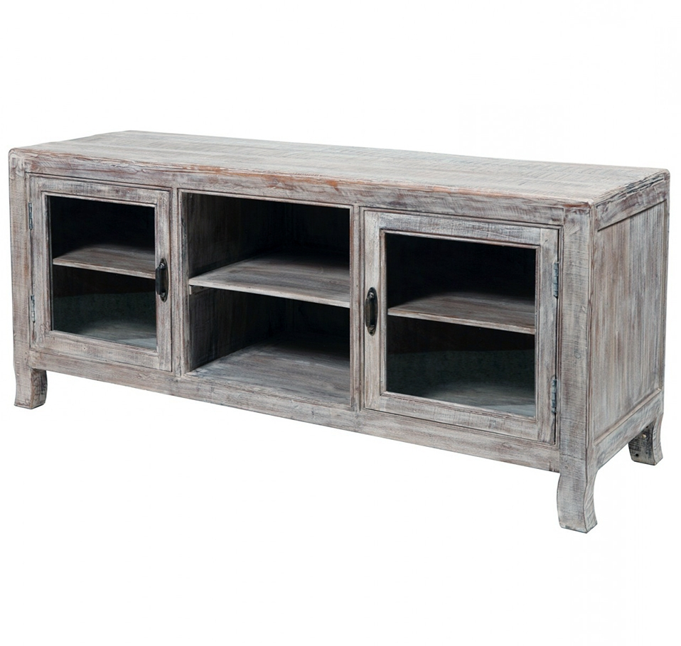 35 Supurb Reclaimed Wood Tv Stands & Media Consoles with regard to Cheap Rustic Tv Stands (Image 2 of 15)