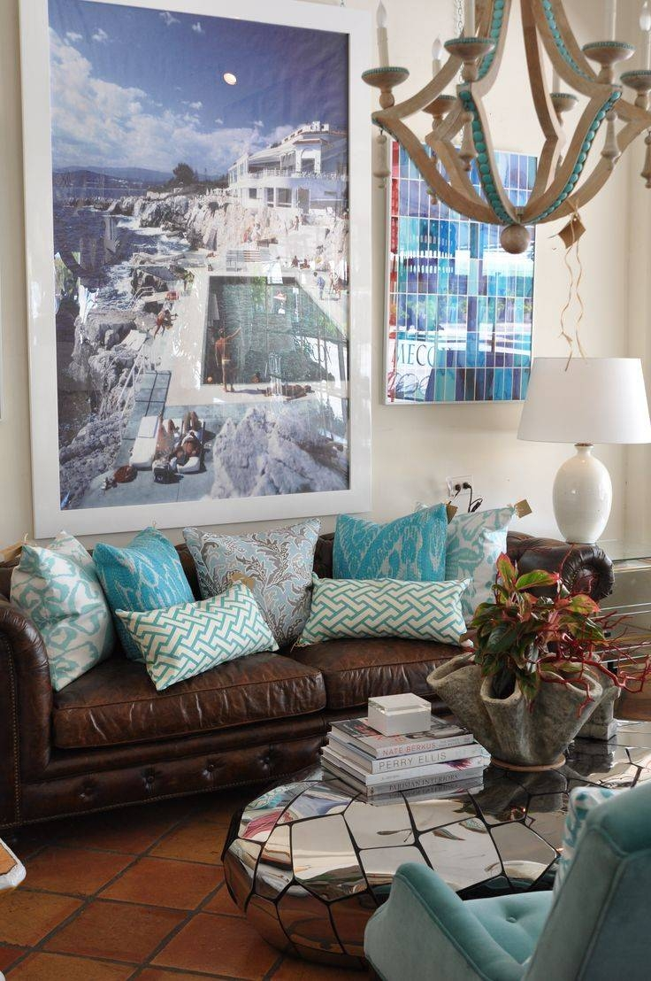 39 Best Brown Couch Images On Pinterest | Living Room Ideas Throughout Brown Sofa Decors (Photo 6 of 15)