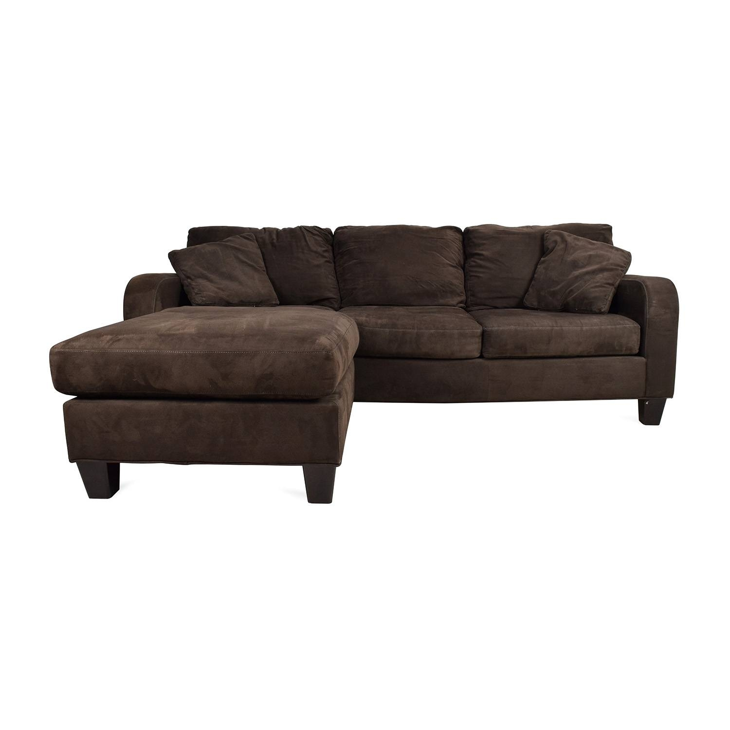 42% Off   Ikea Ikea Kivik Brown Sectional / Sofas Throughout Cindy Crawford Microfiber Sofas (Photo 2 of 15)