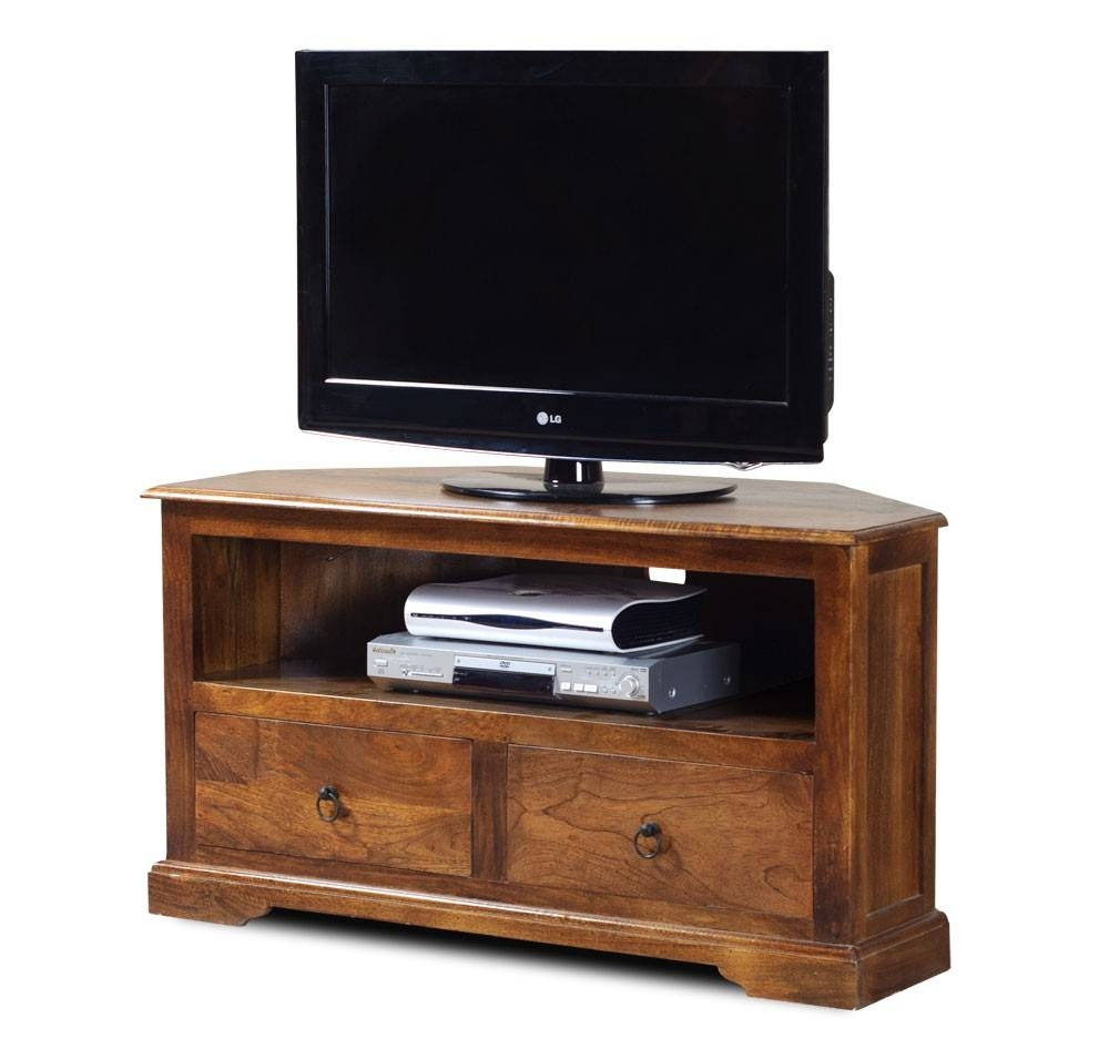 """42"""" Tv Cabinet   Indian Mango Wood Stand   Media Components   Casa Within Mango Tv Unit (View 13 of 15)"""